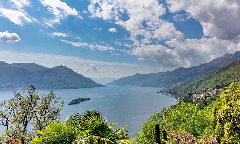 Der Süden rückt näher. Geniessen Sie es! Bild Lago Maggiore ©Locarno